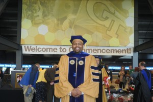 Dr. Michael Hatcher PhD Graduation Ceremony